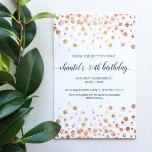 birthday invitations luxe invitations