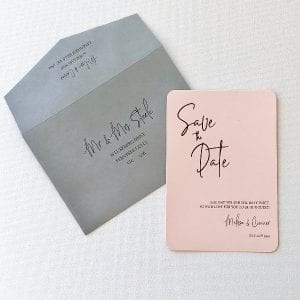 Signature Suite Save the Date Card