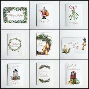 Christmas bulk pack of cards